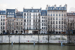Здание Парижа Стоковые Фотографии RF