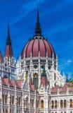 Здание парламента Будапешта, Венгрия, Европа Стоковая Фотография RF