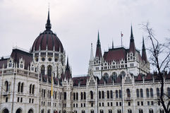 Здание парламента в Будапеште, Венгрии Стоковые Изображения RF