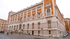 Здание парламента в Риме стоковые изображения rf