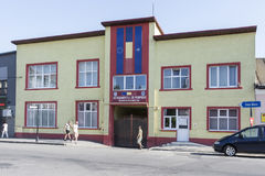Здание пожарного депо в Румынии Стоковые Фото