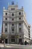 Здание почтового отделения, Гранада, Испания стоковое изображение