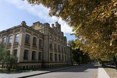 Здание политехнического института Киева Стоковые Изображения