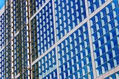 Здание под конструкцией с scaffoldings Стоковое Изображение RF