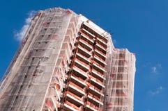 Здание под конструкцией Стоковое фото RF
