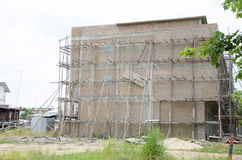 Здание под конструкцией. Стоковые Фото