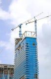 Здание под конструкцией Стоковые Изображения