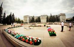 Здание правительства Иркутска Стоковые Фото