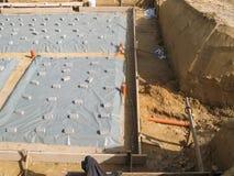 Здание плиты учреждения подготовки новое Стоковое Изображение RF