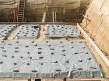 Здание плиты учреждения подготовки новое Стоковая Фотография RF