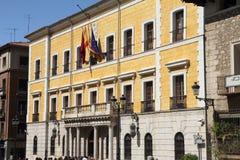 Здание ратуши в Теруэль, Испании стоковая фотография