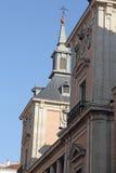 Здание ратуши Мадрида стоковые фото