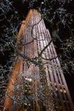 Здание Рокефеллер на рождестве Стоковое фото RF