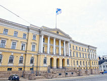 Здание сената (дворец правительства Финляндии) стоковые фото