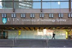 Здание Сиднея технологического университета в Ultimo Стоковые Фотографии RF