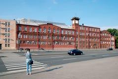 Здание Силы Машин Компании в Санкт-Петербурге Россия Стоковое Изображение