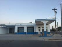 Здание современного искусства и образования Marfa Стоковое фото RF