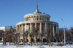 Здание станции реки в городе Tver Стоковое фото RF