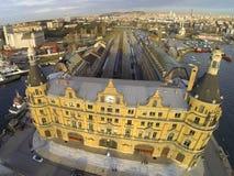 Здание станции Haydarpasa Стоковое Изображение