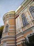 Здание старого банка, Kamenets-Podolskiy, Украина Стоковые Изображения RF