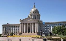 Здание столицы государства Оклахомы Стоковые Фото