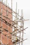 Здание & строительная площадка в прогрессе Стоковое Изображение