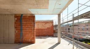 Здание, строительная площадка Стоковое Изображение