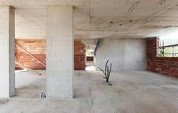 Здание, строительная площадка Стоковые Изображения