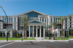 Здание суда графства Jacksconville Стоковые Изображения RF