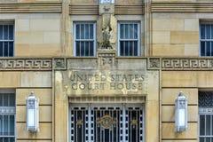 Здание суда Соединенных Штатов - буйвол, Нью-Йорк Стоковая Фотография RF