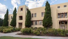 Здание суда Eddy County в Карлсбаде Неш-Мексико Стоковое Изображение RF