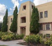 Здание суда Eddy County в Карлсбаде Неш-Мексико Стоковая Фотография RF