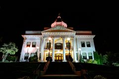 Здание суда Jackson County Стоковое фото RF