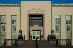 Здание суда Klickitat County в Goldendale Вашингтоне Стоковая Фотография RF