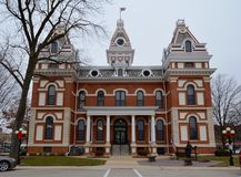 Здание суда Livingston County Стоковые Фото