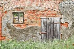 Здание сделанное кирпичей Стоковая Фотография