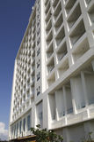 Здание с квадратными элементами Стоковое Фото