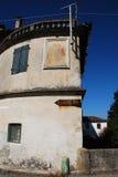 Здание с старым знаком Sammardenchia Стоковое Изображение