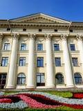 Здание с столбцами, Stalin& x27; империя s Стоковые Изображения RF