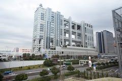 Здание ТВ Фудзи Стоковая Фотография