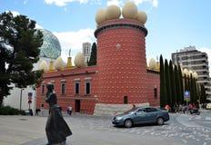 Здание театра Dali и музея, Фигераса, Испании Стоковое Изображение RF