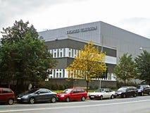Здание телевидения Sveriges в Стокгольме, Швеции Стоковые Фотографии RF