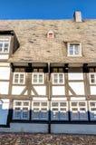 Здание тимберса обрамленное Стоковые Фото