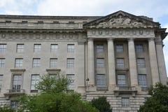 Здание Уильям Джефферсон Клинтона федеральное в DC Вашингтона стоковое фото rf