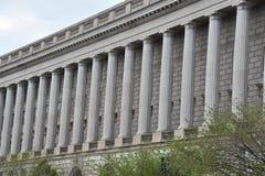 Здание Уильям Джефферсон Клинтона федеральное в DC Вашингтона стоковое изображение