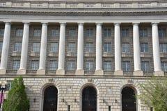 Здание Уильям Джефферсон Клинтона федеральное в DC Вашингтона стоковая фотография