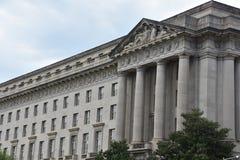 Здание Уильям Джефферсон Клинтона федеральное в DC Вашингтона стоковые изображения