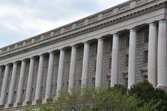 Здание Уильям Джефферсон Клинтона федеральное в DC Вашингтона стоковое фото
