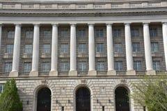 Здание Уильям Джефферсон Клинтона федеральное в DC Вашингтона стоковая фотография rf