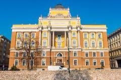 Здание университета в Сараеве Стоковая Фотография